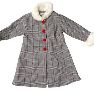 NWT Youngland Girls Holiday 2T Light Weight Coat